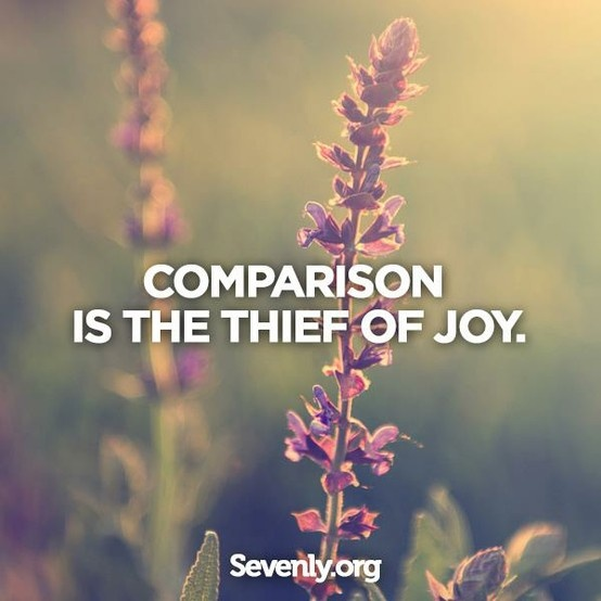 Contentment is the cure for comparison! #Motivation #Inspiration #Quote