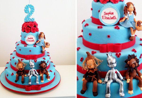 Torta Fiesta Mago de Oz