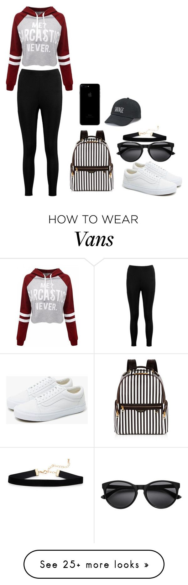 """Untitled #39"" by oliviacollins2023 on Polyvore featuring Boohoo, Vans, Henri Bendel and SO"
