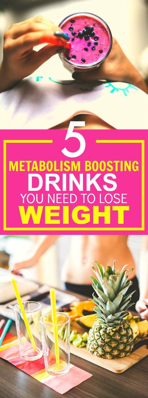 These 5 Metabolism Boosting drinks are THE BEST! I'm so glad I found this AMAZING post! I've tried one of them and I've already lost SO MUCH WEIGHT! Definitely pinning for later!