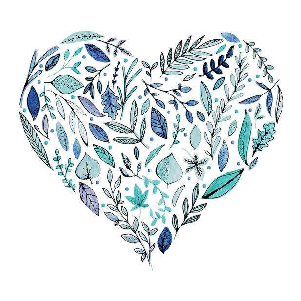 Leafy heart || Leah Trengove