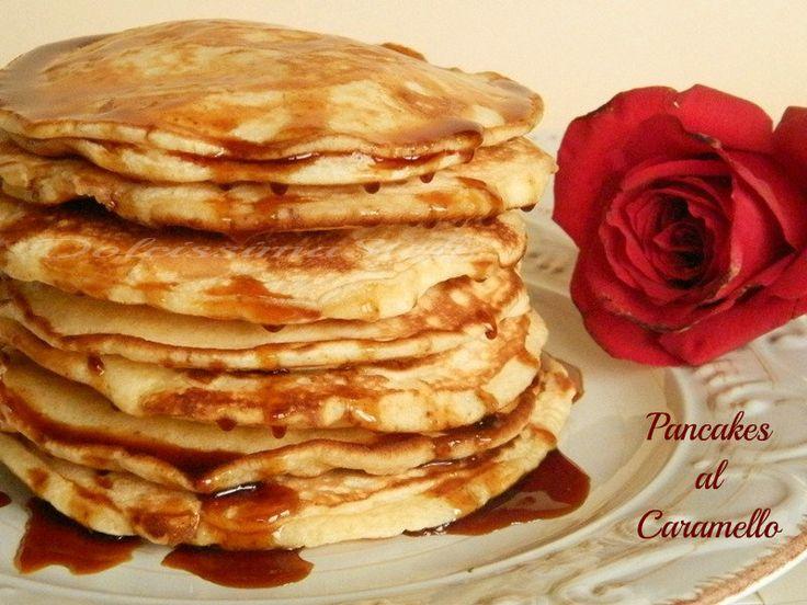 Pancakes al Caramello