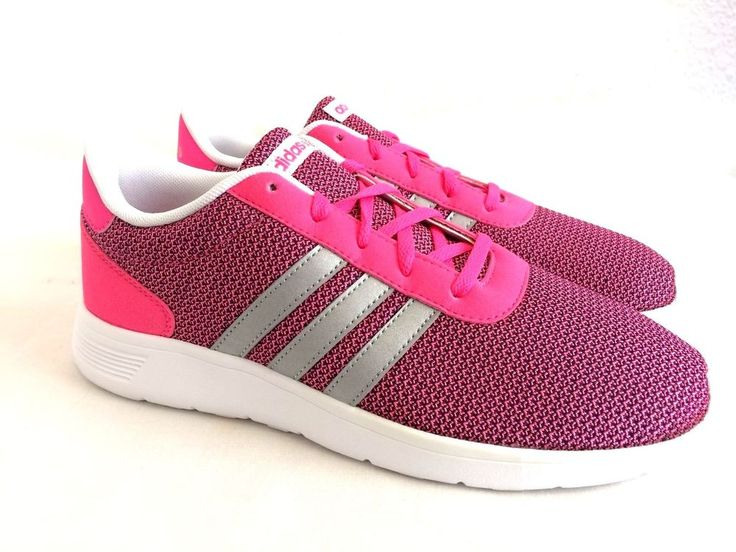 Adidas Neo Lite Racer Girls Womens Pink Trainers Sizes 5.5 to 6.5  NEW   #adidas #Trainers