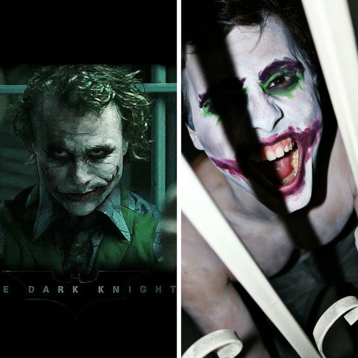 Heath Ledger's Joker by David B. is INCREDIBLE 😲🎭 #scholarship #celebrity #celebritylookalike