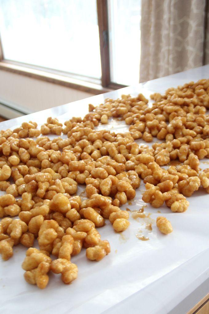 Caramel Puff Corn Recipe www.BrightGreenDoor.com