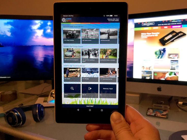 Watch your home movies in Netflixstyle App on your Kindle