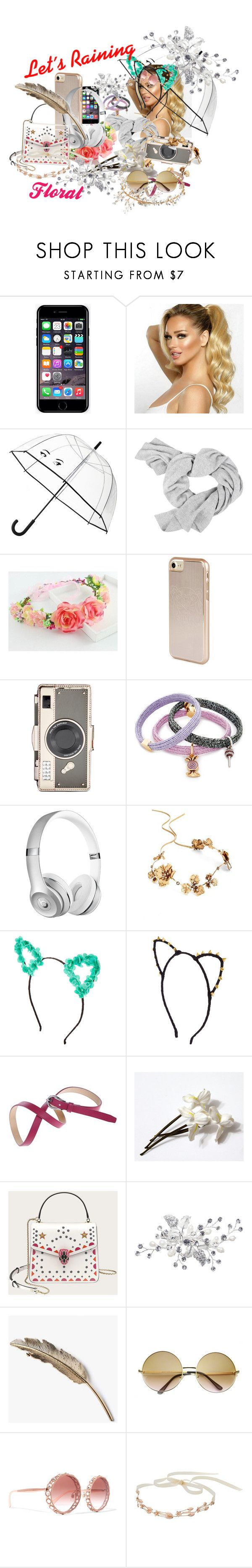 """Let´s Raining Floral"" by lisa-fischer-1 ❤ liked on Polyvore featuring Off-White, Kate Spade, Kenzo, Marc Jacobs, Twigs & Honey, ZeroUV, Dolce&Gabbana, LC Lauren Conrad and Nina"