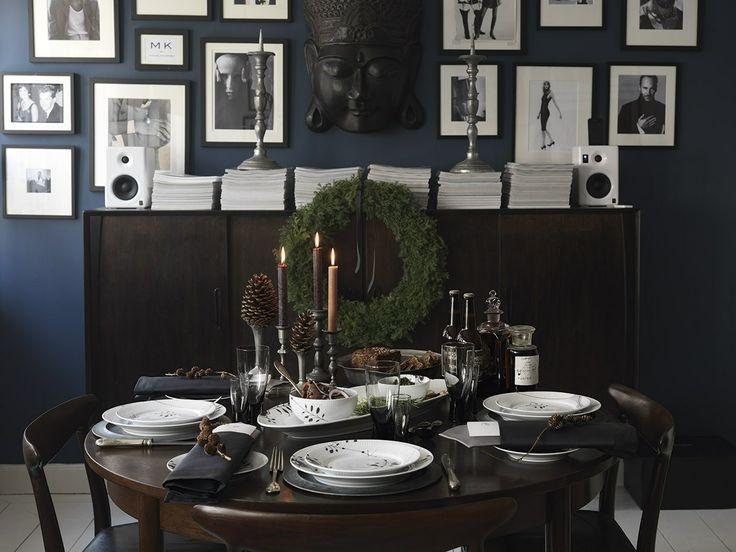 Bordet her er dækket af Royal Copenhagen