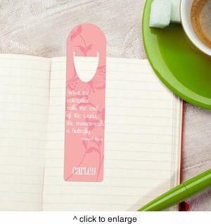Personalized Bookmark - Design 1