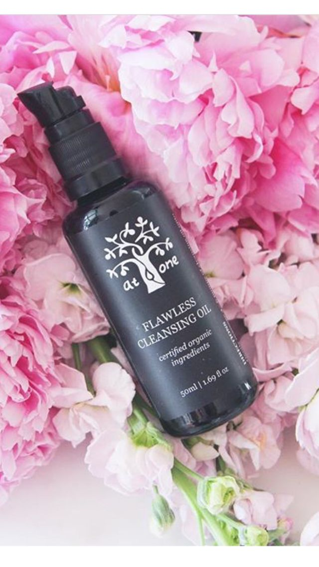 """""""Flawless Cleaning Oil is filled to the brim with the most beautiful pure plant oils which not only cut through some of the most stubborn make-up but also works an absolute treat for dry, irritated or sensitive skin as this Oil also works to nourish the skin."""" Thanks to orichidsandpeonies.com for the photo"""