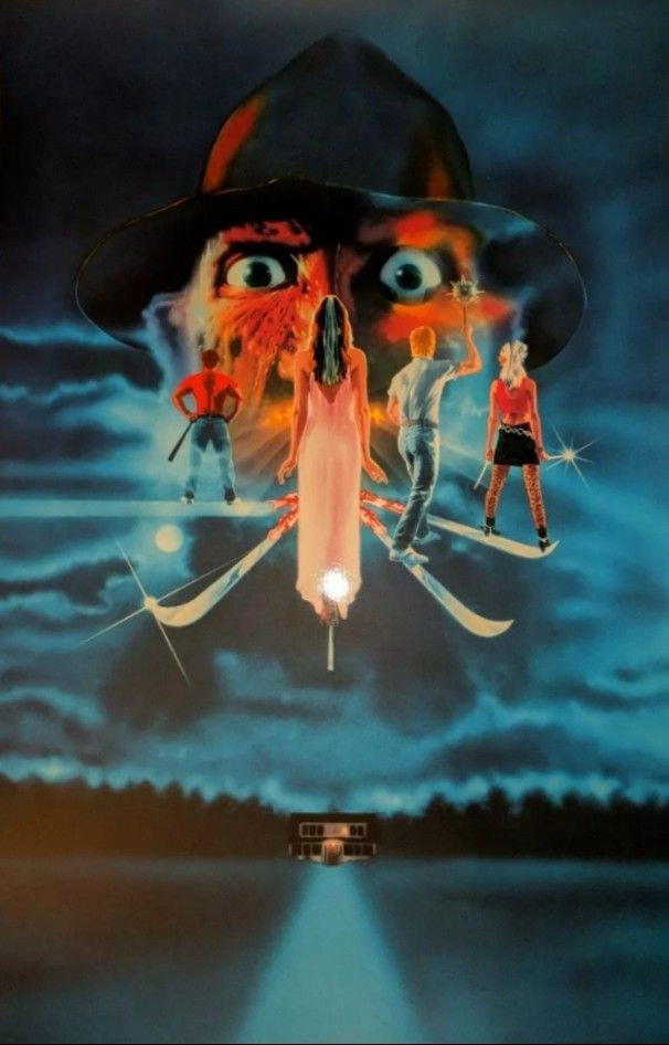 A Nightmare On Elm Street 3 Dream Warriors 1987 With Images