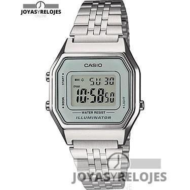 ⬆️😍✅ Casio LA680WEA-7EF ✅😍⬆️ Increíble Modelo de la Colección de Relojes Casio PRECIO 26.6 € En Oferta Limitada en 😍 https://www.joyasyrelojesonline.es/producto/casio-la680wea-7ef-reloj-digital-de-cuarzo-para-mujer-con-correa-de-acero-inoxidable-color-plateado/ 😍 ¡¡No los dejes Escapar!! #relojes #casio #RelojesCasio
