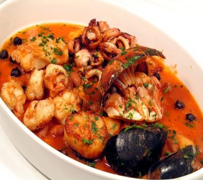 Zuppa di pesce (fish soup)