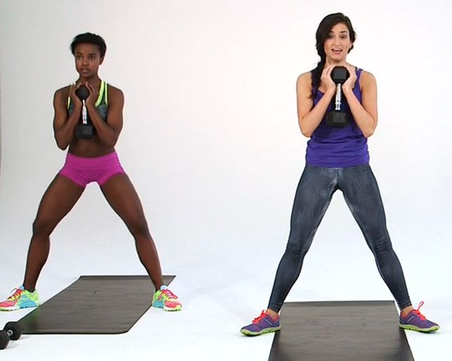 BUTT AND THIGH WORKOUT 5-Minute Workout: Tone Your Butt and Thighs Sweat with us in real time!