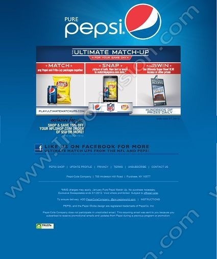 Best 18 email design coca colapepsi images on pinterest company pepsi us brand of pepsico subject your chance to winap a pic with your fav pepsi and frito lay products inboxvision a global email spiritdancerdesigns Images