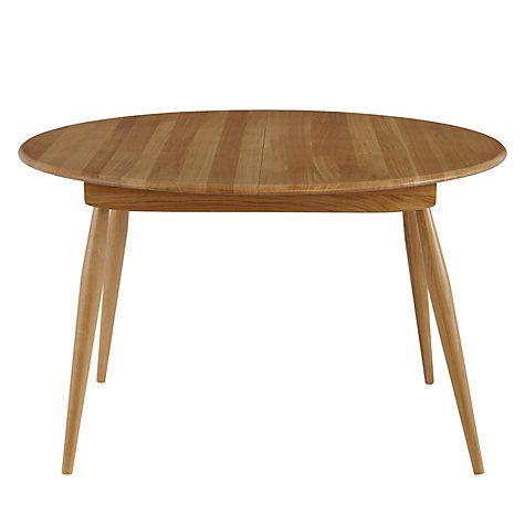 Buy ercol for John Lewis Chiltern 4-6 Seater Extending Dining Table Online at…