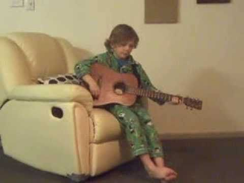 Joshuas get well song for Doc Neeson only 7 years old after 4 weeks of listening to Docs songs