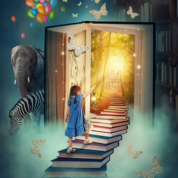 """""""In books I have traveled, not only to other worlds, but into my own."""" – Anna Quindlen  Reading descriptive, historical books such as the Bible can open up your child's imagination and allow them to tap into their creative spirit."""