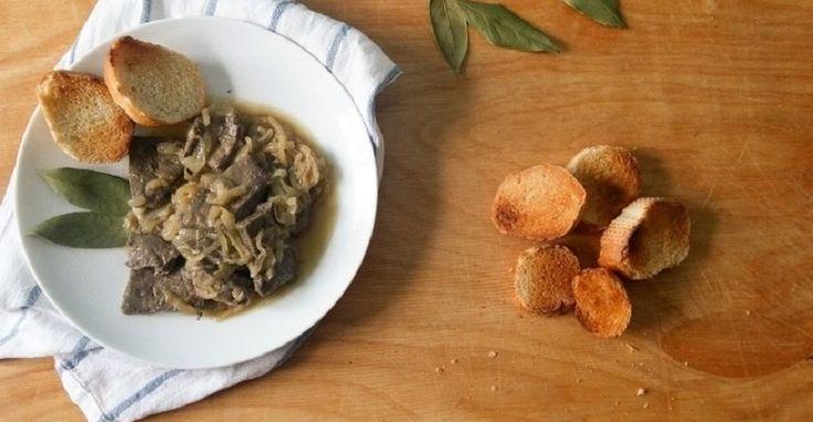Fegato alla veneziana, ricetta tradizionale