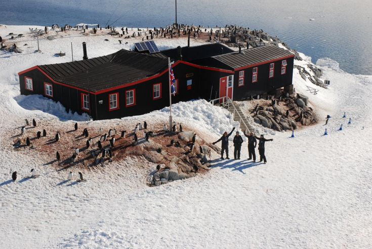 First person account of living and working in Antarctica