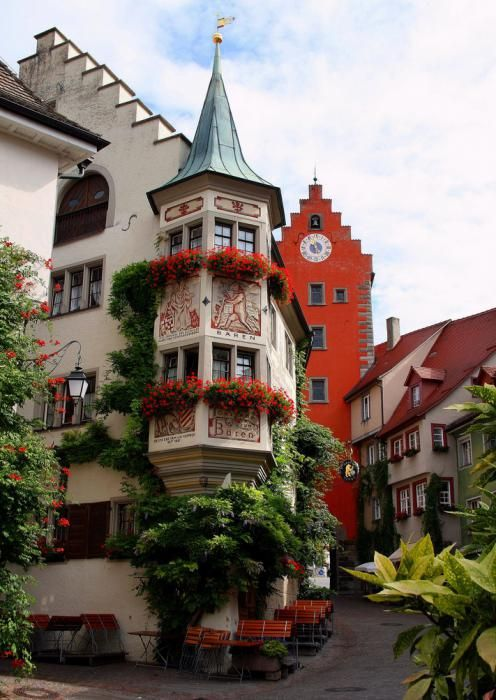 Meersburg, Germany. Hotel Zum Baren. Stayed here in 2003.