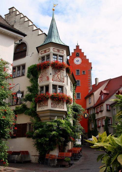 Meersburg, Germany. Hotel Zum Baren. Stayed here in 2003.