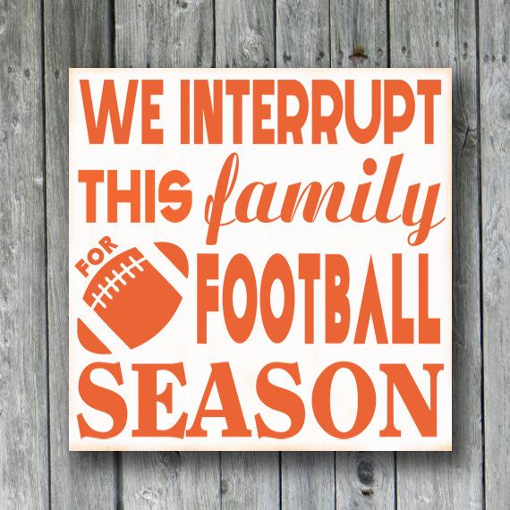 Custom Football SignSports SignWe interrupt by doudouswooddesign, $30.00