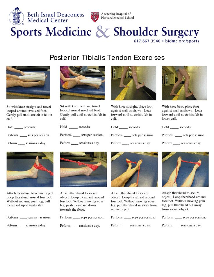 Tibialis anterior strengthening exercises