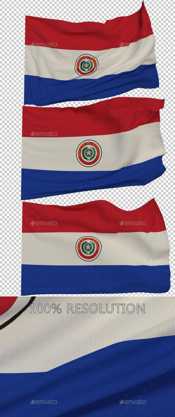 Flag of Paraguay - 3 Variants by Stanyslav12345 Hello Everyone. This is my new Flag of Paraguay. Hope you find it useful! 3 PNG images with Alpha and 3 copy in low resolution Re