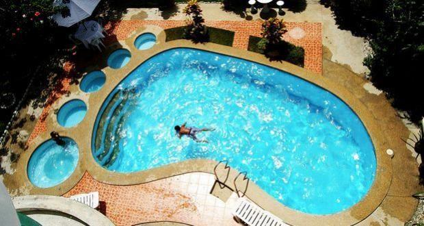 25 best images about piscinas originales on pinterest for Formas de piscinas