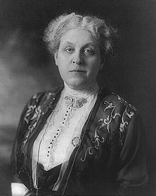 Carrie Chapman Catt spent her childhood in Charles City, Iowa and graduated from Iowa State. She was a woman's suffrage leader who campaigned for the 19th amendment.