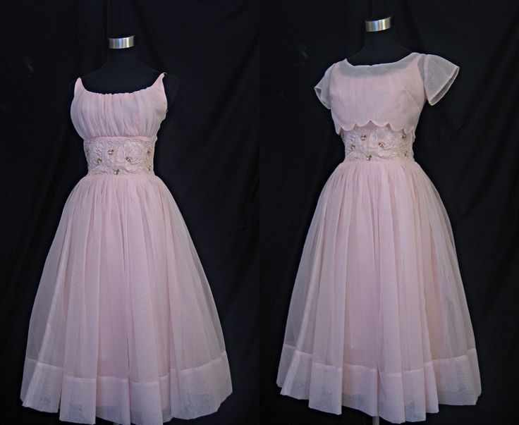 reminds me of my 8th grade graduation dress....loved that pink dress!