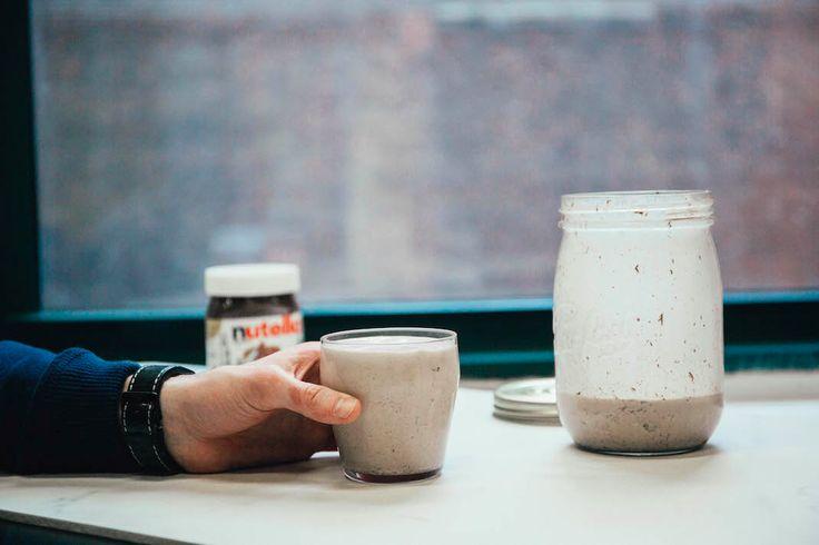Hűtsd le magad egy nutellás shake-kel!   NOSALTY – receptek képekkel