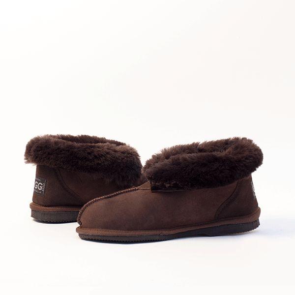Choc UGG Slippers #choc #chocolate  #sheepskin #ugg #boots #slippers #uggboots #australia #aussie #australian