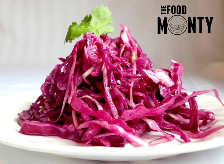 Pickled Red Cabbage Slaw