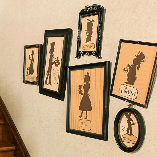 Alice In Wonderland Halloween Party For Adults Mad Hatters Wall