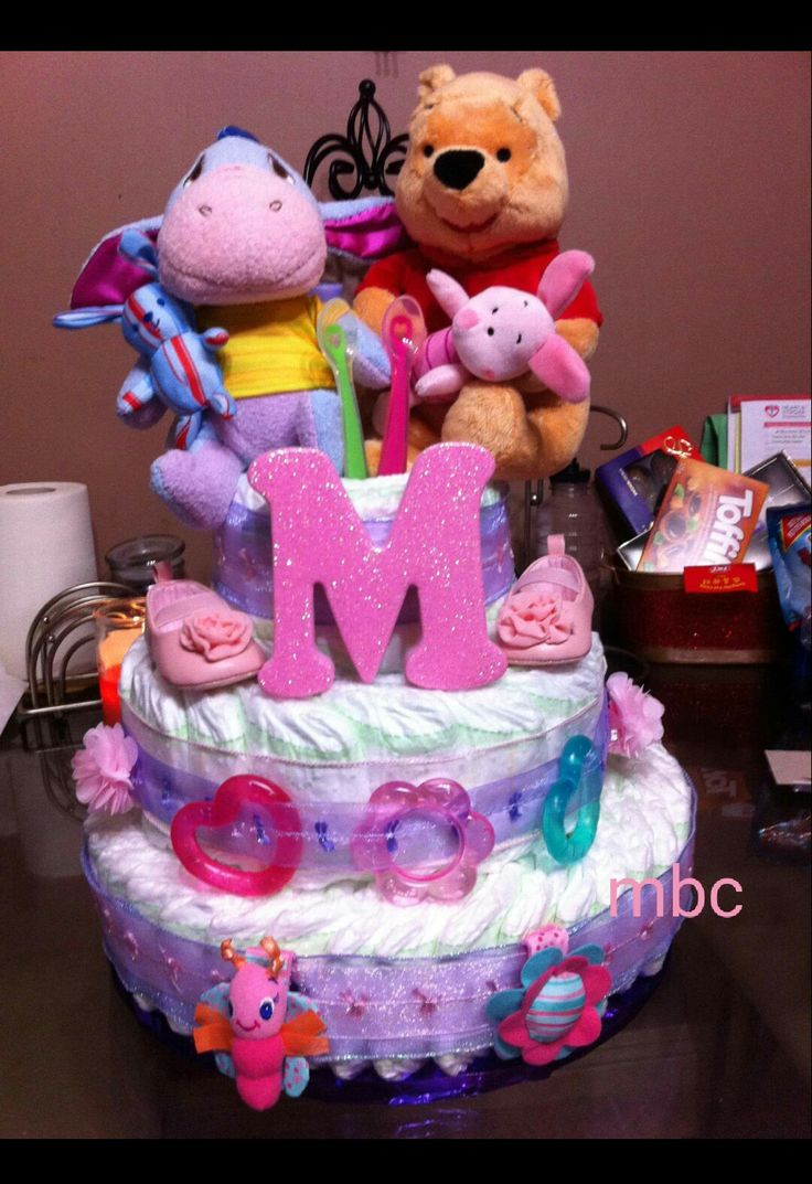 I made this diaper Cake for my sister inlaw