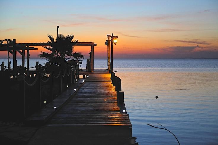 A lovely evening in Port Arthur, Texas.