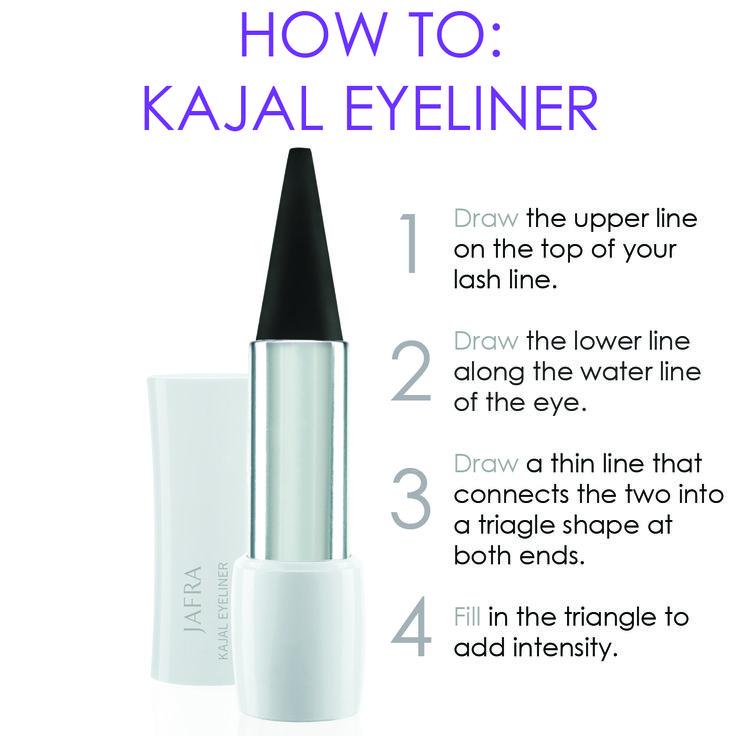 How To: Kajal Eyeliner #smokeyeye #cateye  http://www.jafrausa.com/regional/productcatalog/product-detail?sku=25075=false