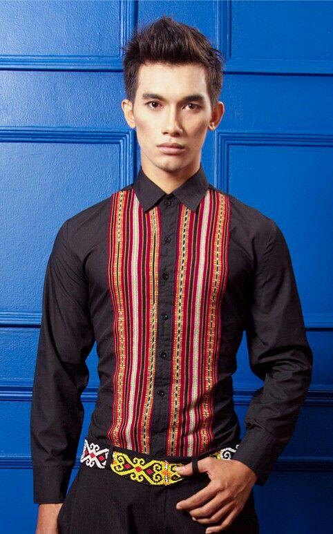 Mavazi summer menswear  - traditional weaving from Maumere island fabric