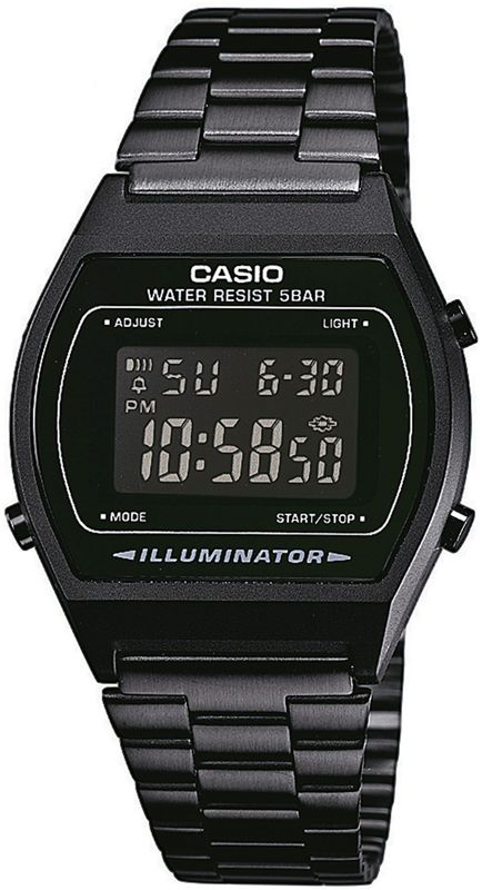 Casio B640WB-1BEF Black Retro Digital Watch - LOVE!!