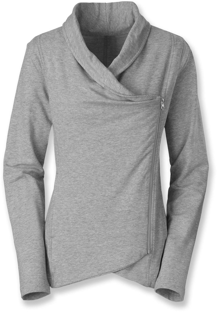 Wrap up in The North Face Sharlet Wrap Sweater - Women's.
