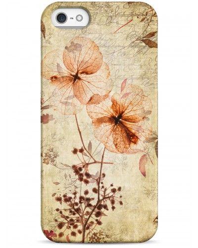 Красивый винтажный гербариум - iPhone 5 / 5S / 5C Дизайнерские чехлы для iPhone