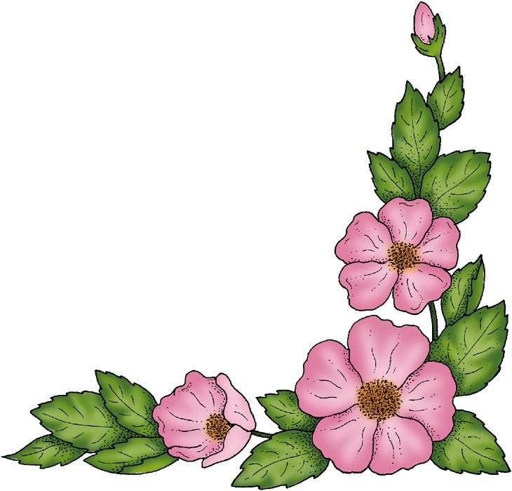 Free Painted Flower Graphics