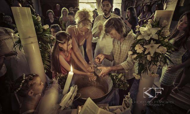 Ο Γάμος του Παναγή και της Παναγιώτας  και η Βάπτιση