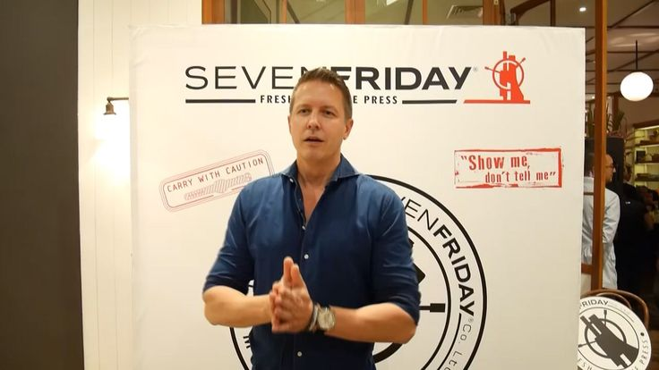 With Daniel Niederer Seven Friday CEO & Founder
