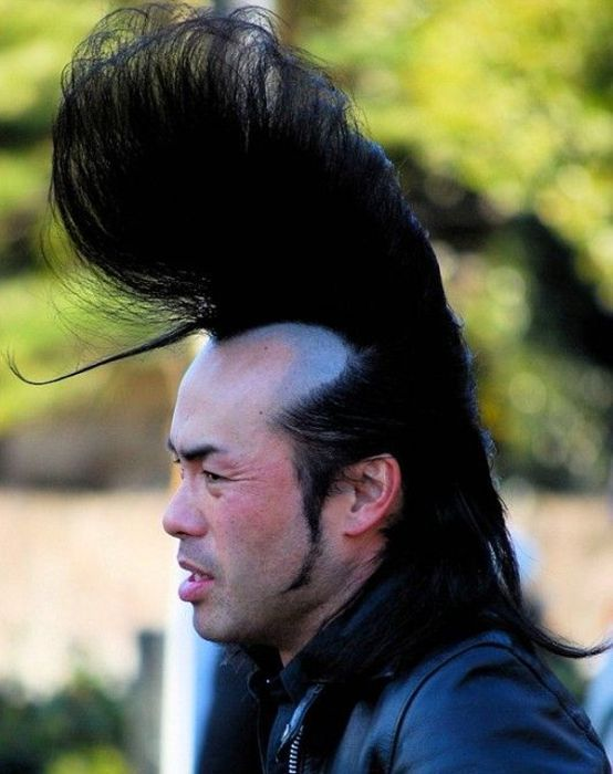 Crazy asian hairstyles