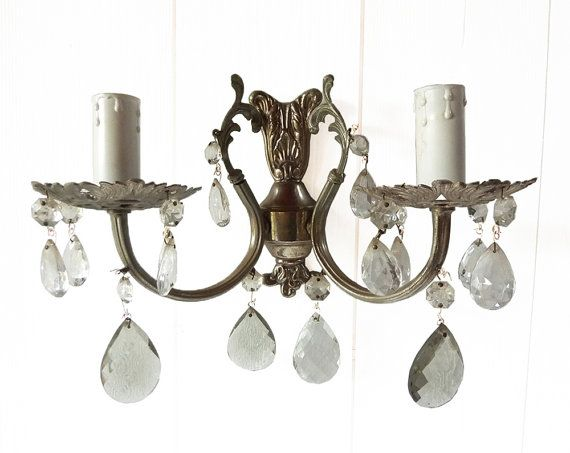Crystal Electric Wall Sconces : 17 Best images about 1940s Refresh & Expand- A Home Makeover Project on Pinterest Retro ...