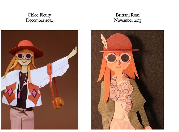 Feels Familiar? Chloe Fleury VS Brittani Rose