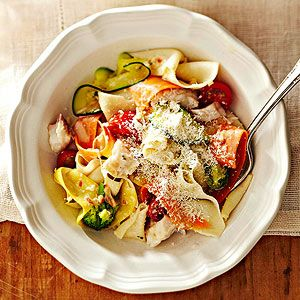 Vegetable Ribbon Pappardelle